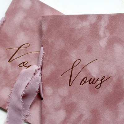 Dusty Rose Vow Books