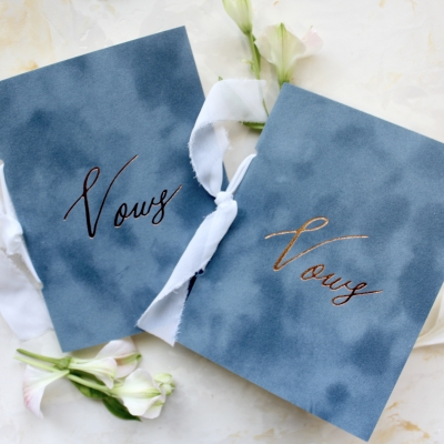 French Blue Vow Book